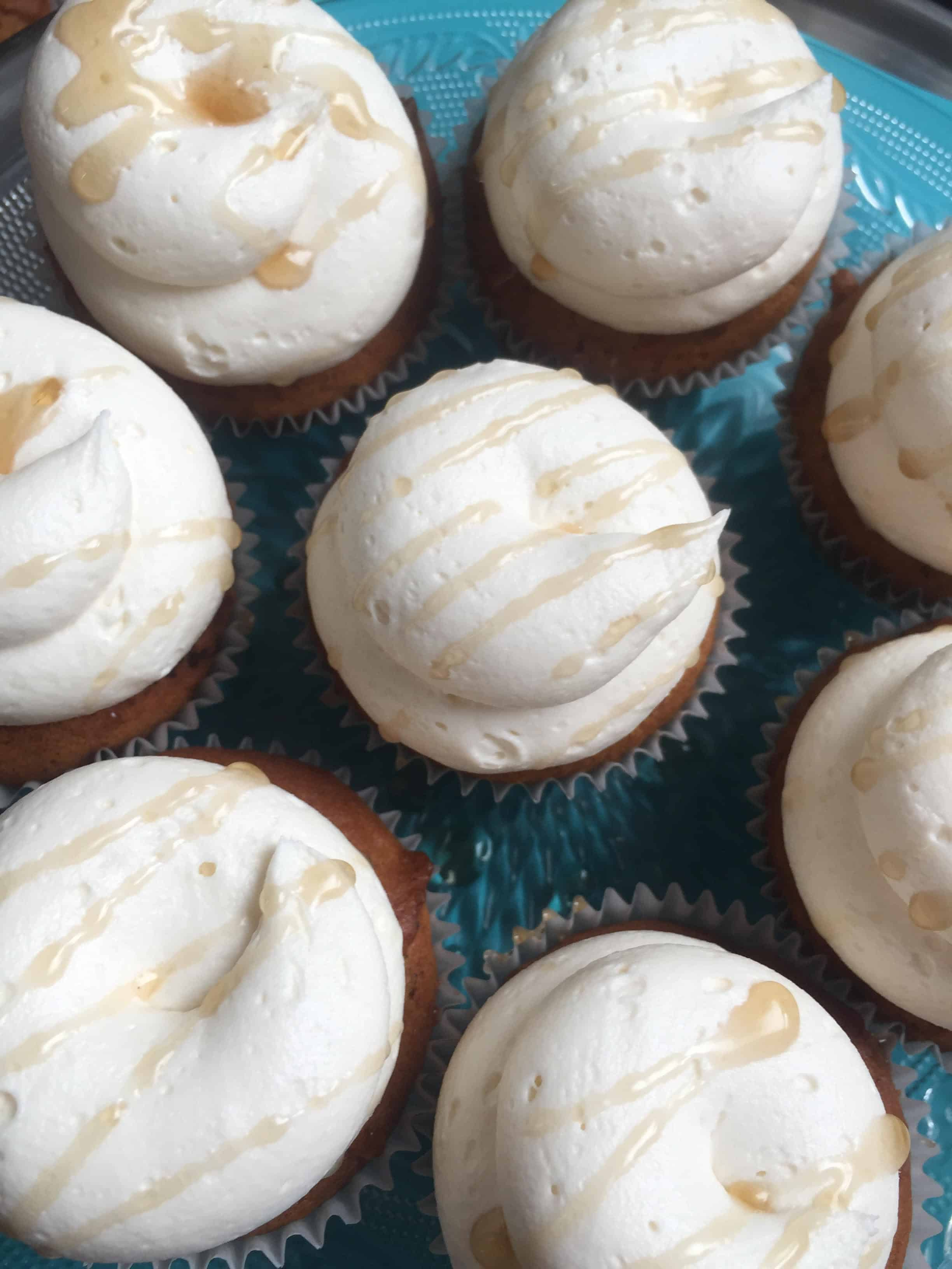 Pumpkin Maple Kupcakes