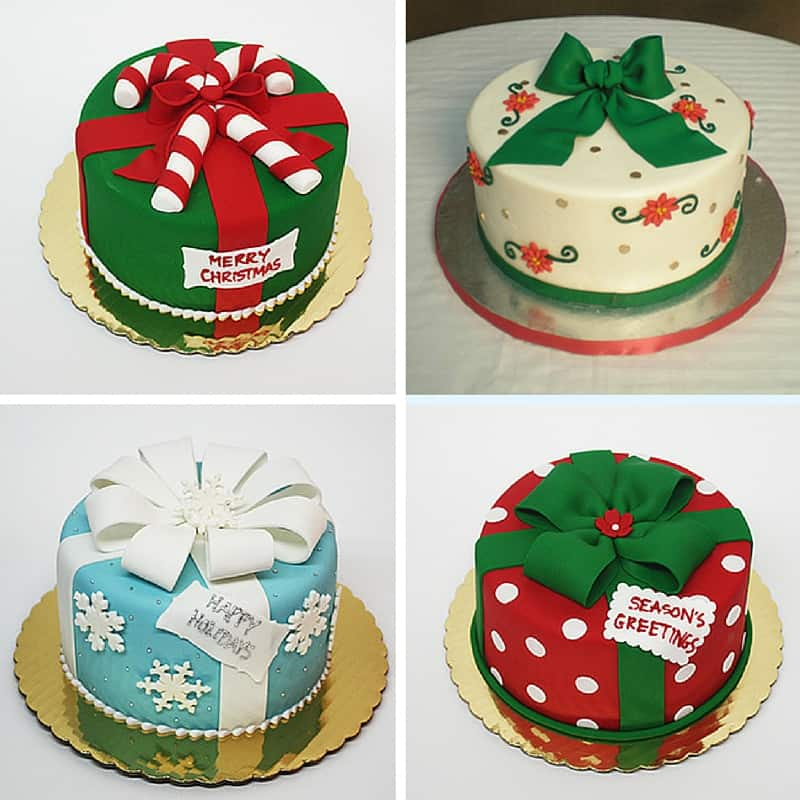 Fondant Cake Designs For Christmas : Merry Fondant Friday!