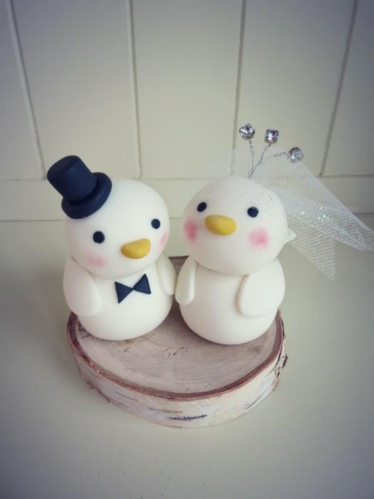 How To Make A Wedding Cake.How To Make A Love Birds Wedding Cake Topper