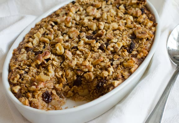 Baked Oatmeal: Dessert for Breakfast