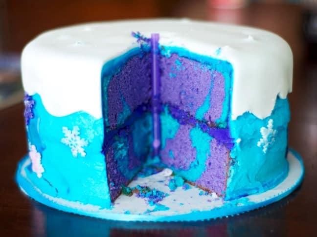 frozen-tie-dye-cake