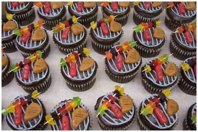 BBQ-Cupcakes