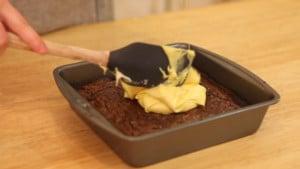 Cadbury Egg Brownies