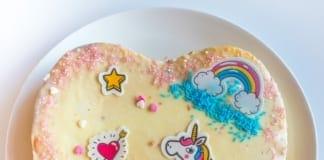 unicorn cake toppings