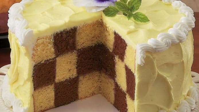 Betty Crocker Chocolate Checkerboard Cakes