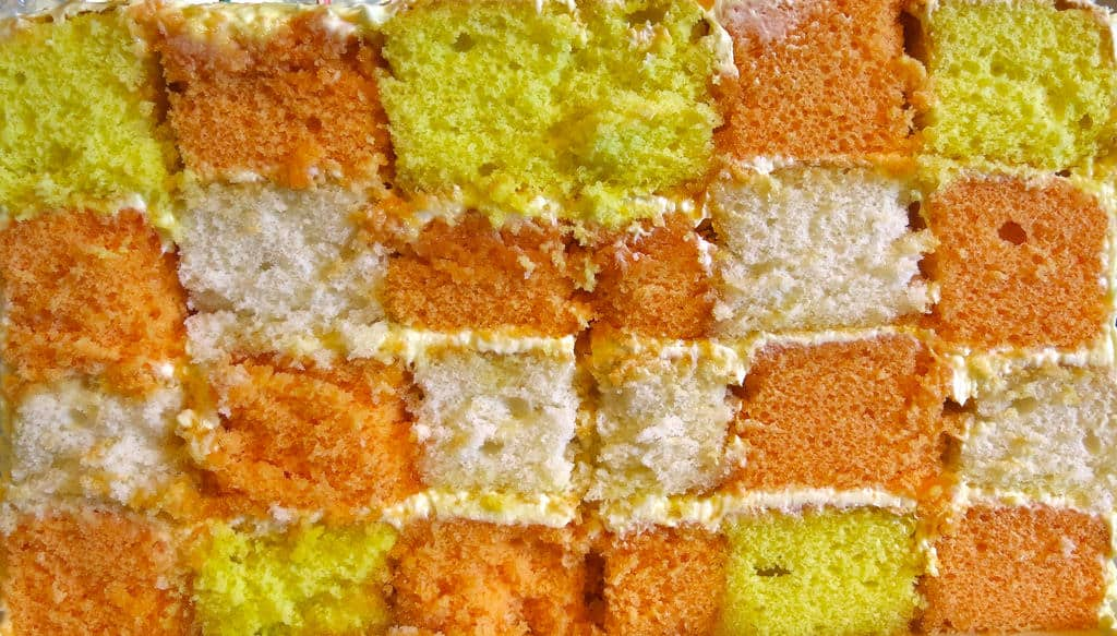 checkerboard cakes