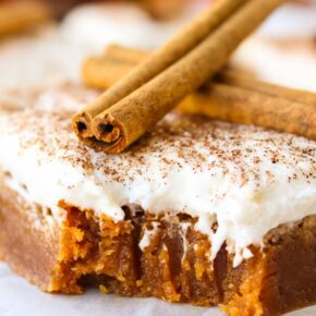 Butterscotch Pumpkin Cake Recipe