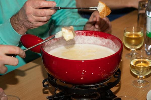 red fondue