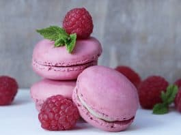 Strawberry macaroons, which are a fun easy recipe